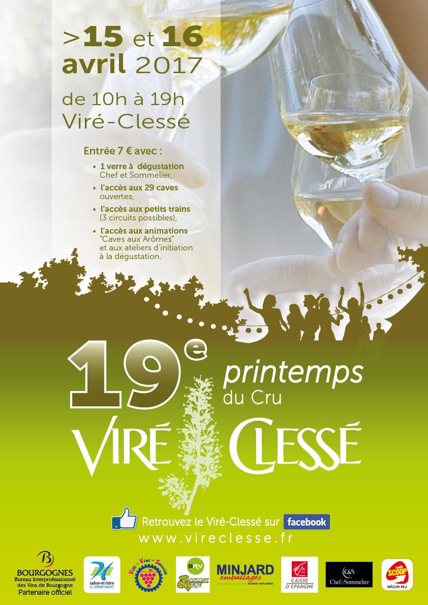 19e Printemps du Cru Viré-Clessé !